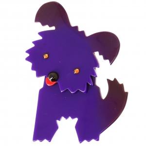 Chien Bobby violet