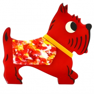 Chien jano rouge