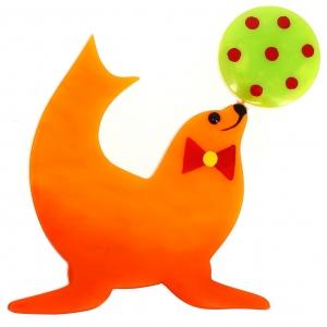 Otarie orange
