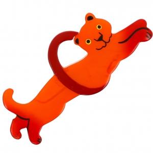 Panthere circus orange
