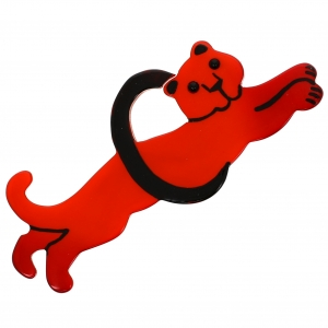 Panthere circus roux