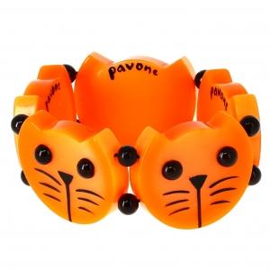 Têtes Rondes Chats oranges