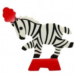 Zebre Circus blanc