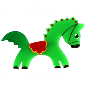Cheval Circus vert