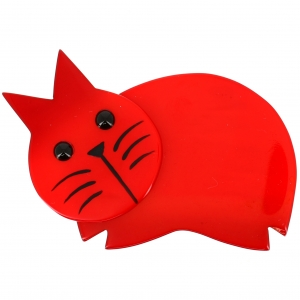 chat dodu rouge