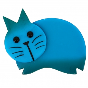 chat dodu turquoise