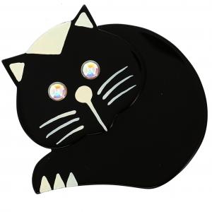 chat roudoudou noir