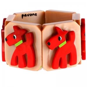 chien fox rouge beige