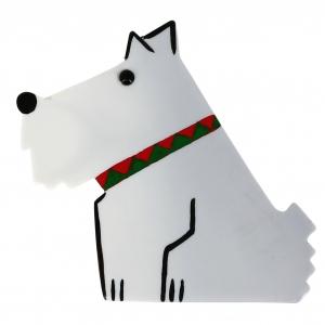 chien ric blanc