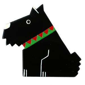 chien ric noir
