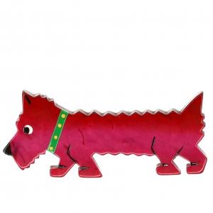 chien titane framboise