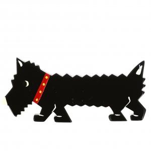 chien titane noir