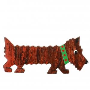 chien titane roux chine