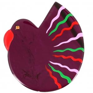 colombe violet