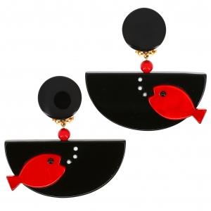poisson ocean noir rouge