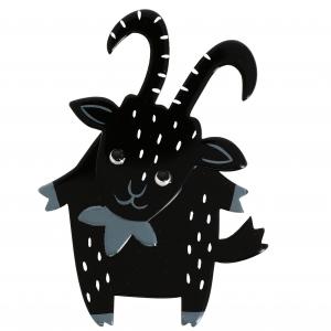Biquette noire