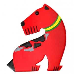 fox tachete rouge