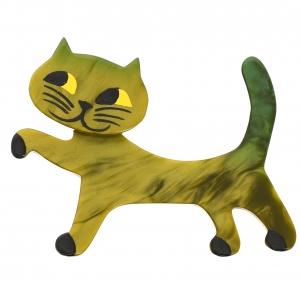 Chat Titi vert mousse