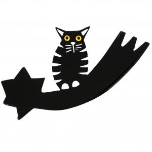 chat comete noir 3
