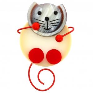 chat pao blanc