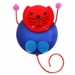 chat pao bleu et rouge