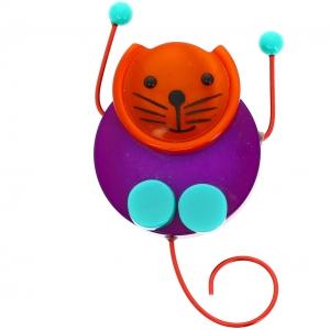 chat pao viloet et orange