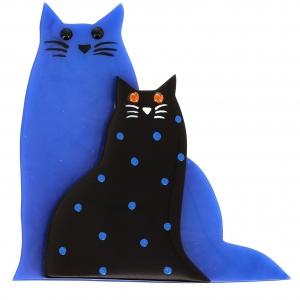 lovely bleu et noir