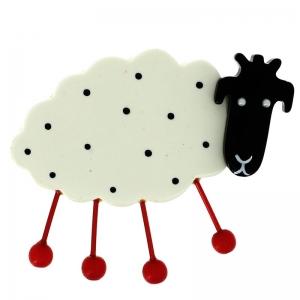 mouton blanc pois