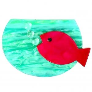 Aquarium rouge et lagon