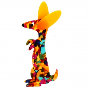 Bunny confetis et jaune