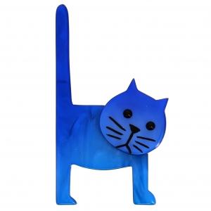 Chat Chaise bleu roi