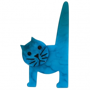 Chat Chaise turquoise