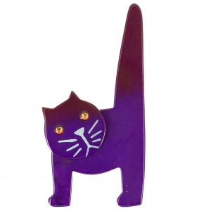 Chat Chaise violet