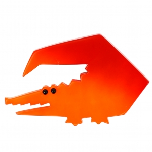 Crocodile trapeze orange