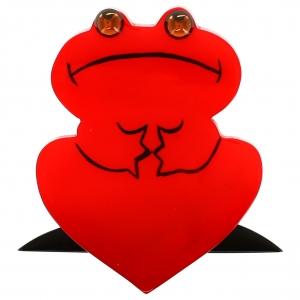 Grenouille Reinette rouge 1