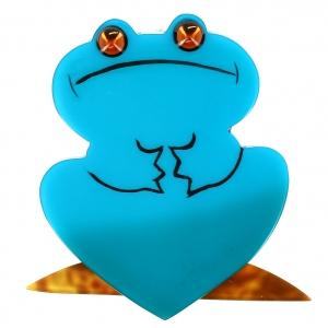 Grenouille Reinette turquoise