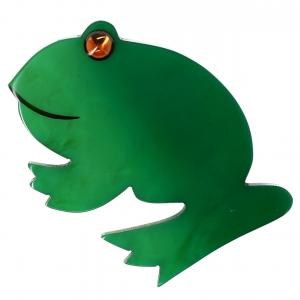 Grenouille ronde verte