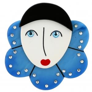 Pierrot Collerette bleu