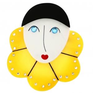 Pierrot Collerette citron