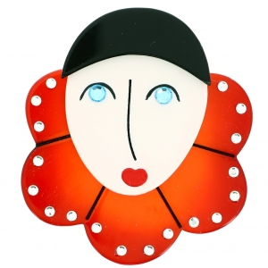 Pierrot Collerette orange