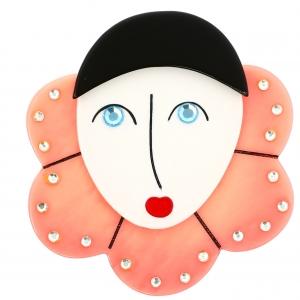Pierrot Collerette rose clair