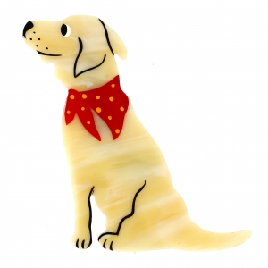 chien labrador creme