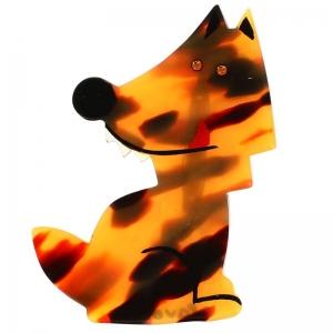 loup garou brun ecaille
