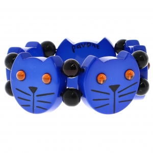 tetes chats bleues