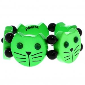 tetes chats vert