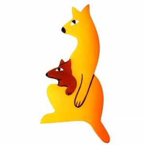 Kangourou Baby jaune