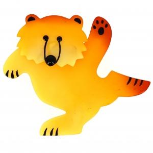 Ours dansant jaune clair