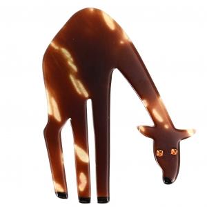 girafe marbree