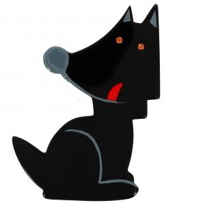 loup garou noir