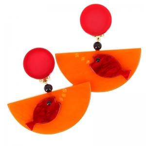 BO poisson ocean orange et rouge